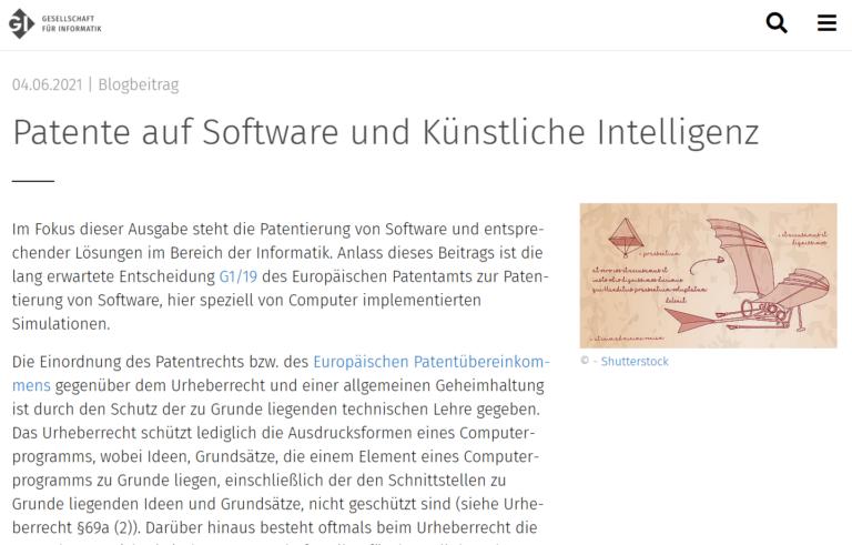 Softwarepatente